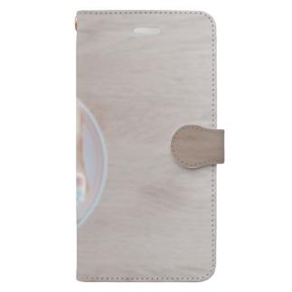 マシュマロ焦げちゃった Book-style smartphone case