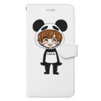 しんしんくん Book-style smartphone case
