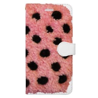 Polka dot Book-style smartphone case
