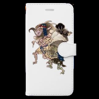 😄 SMILE  or Kill🗡の百鬼夜行 Book-style smartphone case
