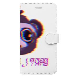 𓀇De La でぃすとぴあ𓁍の怪電波太郎 Book-style smartphone case