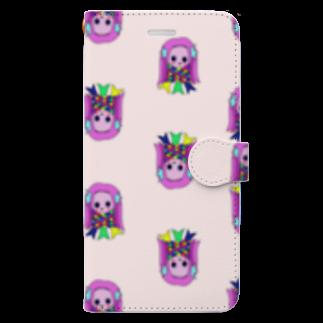 ウチのMEIGENやさんのKちゃんのアマビエ 〜コロナなくなれ!〜 Book-style smartphone case