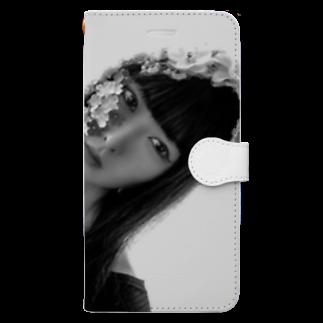 chisatoptrの千聖chisato Book-style smartphone case
