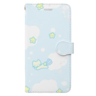 にこにこお空 Book-style smartphone case