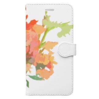 花束 Book-style smartphone case