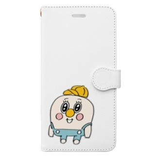 童貞くん Book-style smartphone case