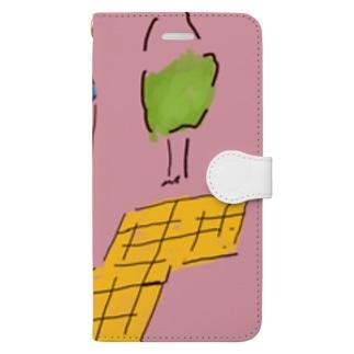 ガーデン Book-style smartphone case