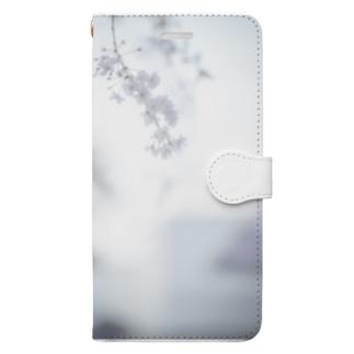 桜フォト Book-style smartphone case