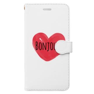 Bonjour Book-style smartphone case