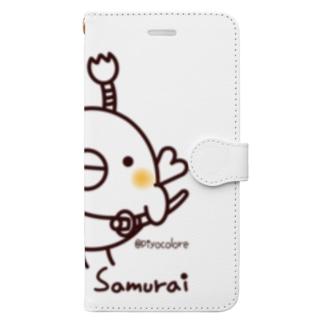 コトリ侍 Book-style smartphone case