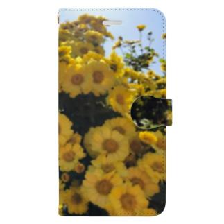 夏の花 Book-style smartphone case
