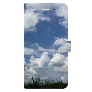 夏空 Book-style smartphone case