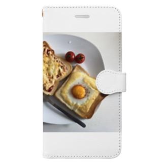 朝ごはん Book-style smartphone case