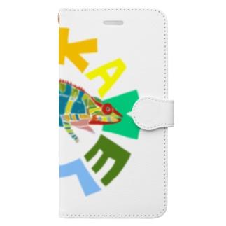 わかめれおん Book-style smartphone case