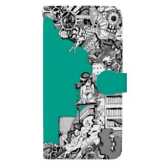 とじこもりちゃん Book-style smartphone case