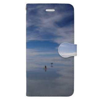 The World Trip ~ボリビア ウユニ塩湖~ Book-style smartphone case