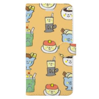 純喫茶 Book-style smartphone case