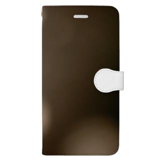 グラデバブルライト Book-style smartphone case
