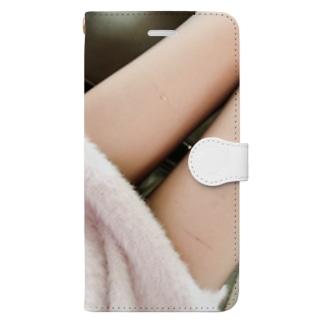 ストッキング Book-style smartphone case