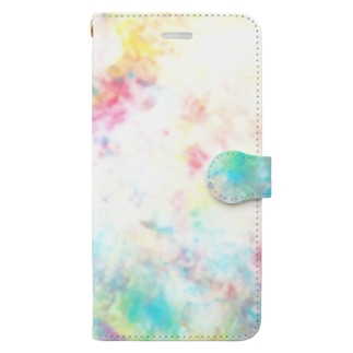 colourful canvas N Book-style smartphone case