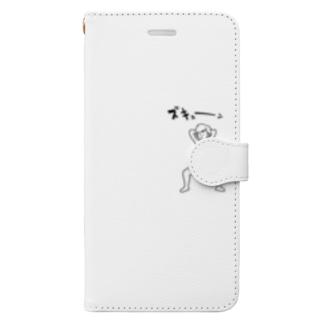 ズキューンな男の子 Book-style smartphone case