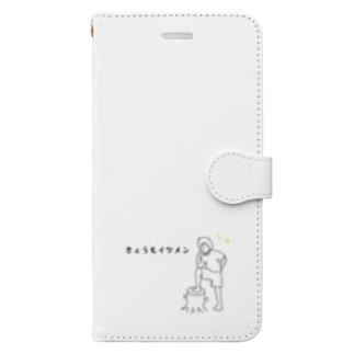 きょうもイケメンボーイ Book-style smartphone case