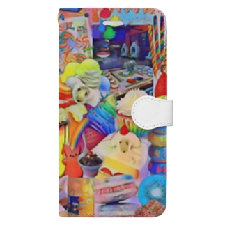 ミンミンのパラレルワールド Book-style smartphone case