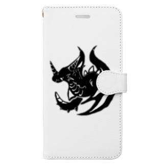 カゲ ト イキル Book-style smartphone case