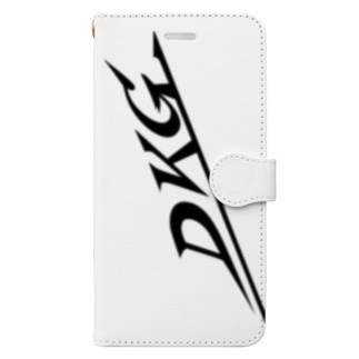 DKGロゴスマホケース Book-style smartphone case