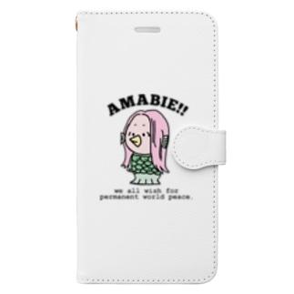 あまびえくん2 Book-style smartphone case