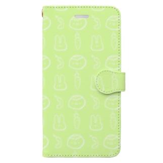かっぱとうさぎ Book-style smartphone case