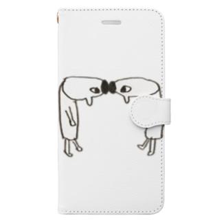 ごっつんこ Book-style smartphone case