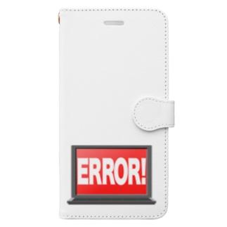 illust_designs_labの甚大なエラー Book-style smartphone case