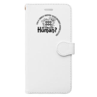 恩義を忘れ、私欲を貪り人と呼べるか Book-style smartphone case