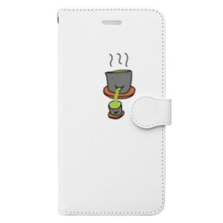 SOCHAさんたち Book-style smartphone case