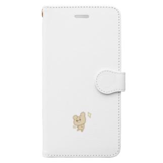 くまくまさんのドヤ顔 Book-style smartphone case