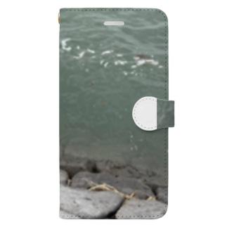 kawachu5の川 Book-style smartphone case
