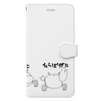 蟹吸い@ゲーム垢の己をタラバガニだと信じているシオマネキ Book-style smartphone case