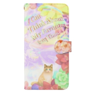 My Favorite〜ユメ色〜 Book-style smartphone case