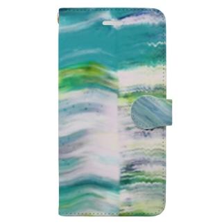 草原 Book-style smartphone case