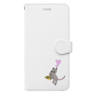 ねずみのちゅっぴー Book-style smartphone case