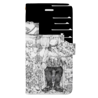 136-yyr-w2 Book-style smartphone case