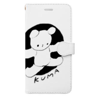 GAJU屋のKUMA Book-style smartphone case