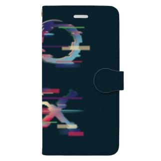 ttyarswの○△□× Book-style smartphone case
