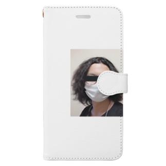 knakanoonの職質受けたことある人アイテム Book-style smartphone case