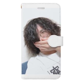 酔っ払いの自撮り写メで作ったアイテム Book-style smartphone case