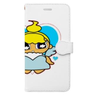 TappyzのSugar&Sugar(天使ちゃん) Book-style smartphone case