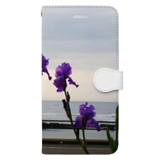 あやめ Book-style smartphone case
