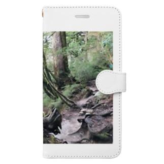 BjjBa4の屋久島の森 Book-style smartphone case