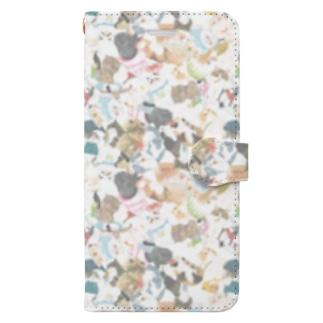 wokasinaiwoの超密エキゾ夏2020 Book-style smartphone case